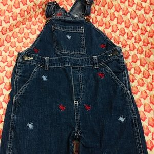 Jean overalls size 3T